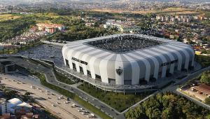 Com meta de inauguração em 2022, Atlético-MG inicia obra do estádio nesta segunda