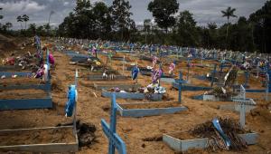 Brasil registra 1.428 novas mortes por Covid-19; total se aproxima dos 250 mil