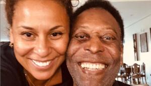 'Marta deveria ser reverenciada como meu pai', diz filha de Pelé