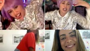 Em live, Anitta dança e recebe elogio de Miley Cyrus:'Sensação do pop brasileiro'