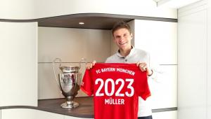 Bayern de Munique renova contrato de Thomas Muller até junho de 2023