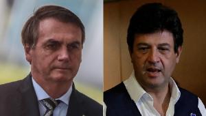Bolsonaro alfineta Mandetta: 'Paciente pode trocar de médico'