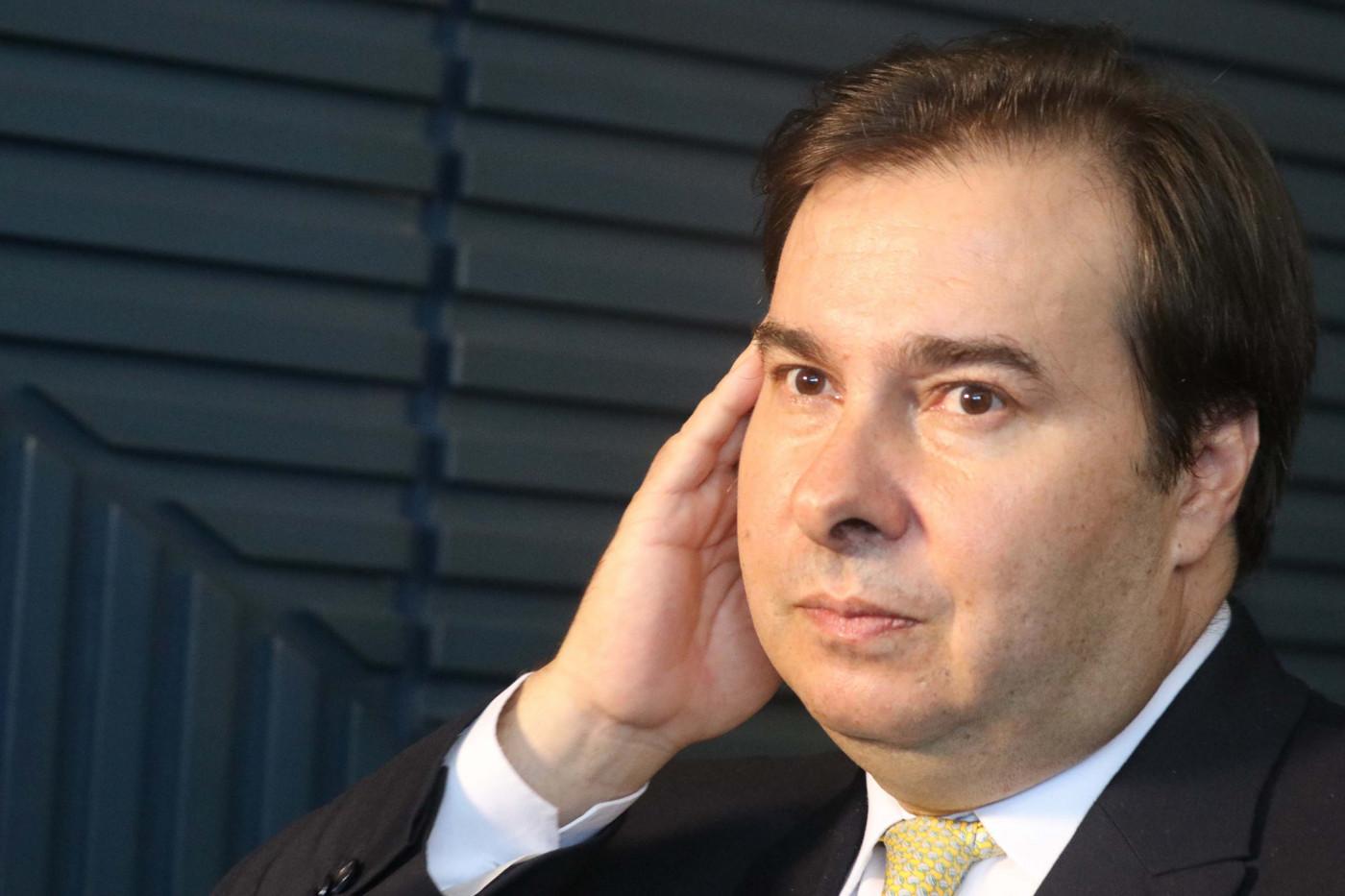 Maia: O governo não tem apoio no Parlamento, mas as medidas contra a crise, sim
