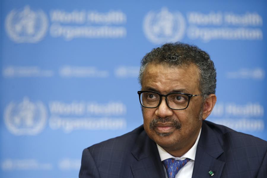 Tedros Adhanom Ghebreyesus é o atual diretor-geral da Organização Mundial da Saúde (OMS)