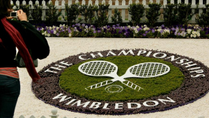 Logotipo do torneio de Wimbledon