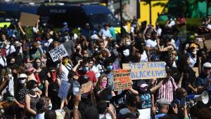 Protestos contra a morte de George Floyd se espalham pelo mundo