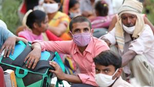 Índia: Incêndio em hospital mata oito pacientes com Covid-19; 40 são resgatados