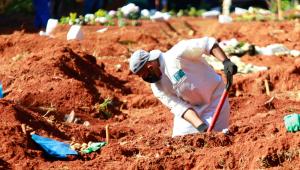 Brasil soma 1.154 mortes por coronavírus em 24 horas e mais de 51 mil novos casos