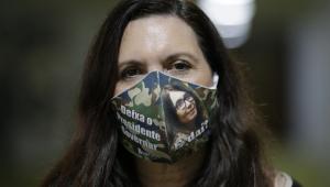 Bia Kicis diz que depoimento foi 'tranquilo', mas critica investigação sobre atos antidemocráticos