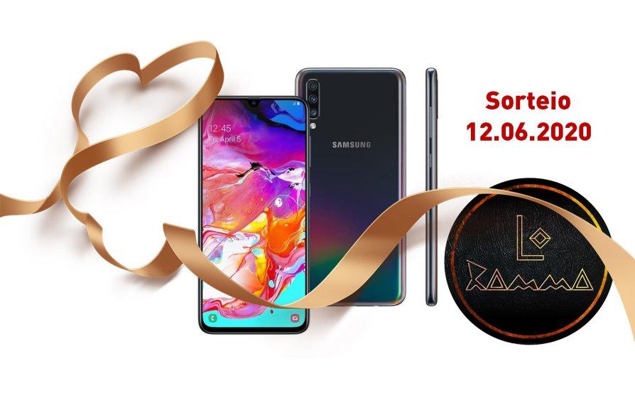 No Dia dos Namorados concorra a um Celular Samsung Galaxy A70 da Banda Lo Ramma