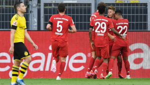 Bayern de Munique bate o Dortmund e fica perto de conquistar a Bundesliga