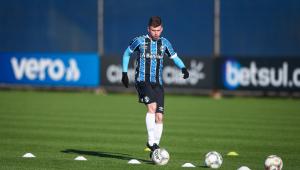 Após cinco jogos no Grêmio, Caio Henrique terá que voltar para o Atlético de Madrid