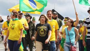 DEM expulsa Sara Winter por 'envolvimento em movimentos radicais contra o Estado de Direito'