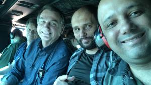 Bolsonaro vai de helicóptero até Abadiânia, em Goiás