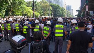 SP monta esquema especial de segurança para atos de domingo