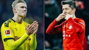 Haaland x Lewandowski! Clássico alemão põe frente a frente os maiores goleadores da Europa