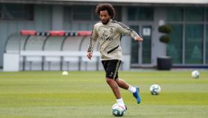 Marcelo sofre lesão na coxa e pode perder reta final do Campeonato Espanhol