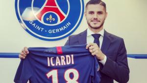 PSG acerta contratação em definitivo do atacante Mauro Icardi