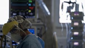 Ocupação de UTI para Covid-19 em hospitais privados de SP chega a 84%