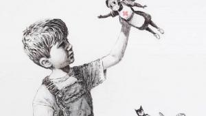 Profissionais de saúde substituem super-heróis em nova obra de Banksy