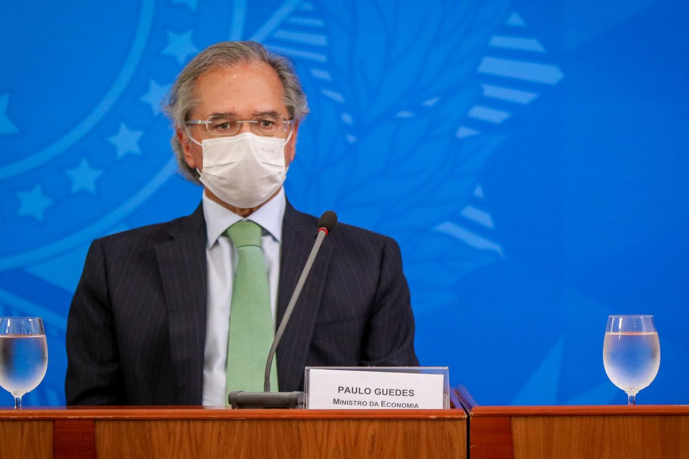 Paulo Guedes é o atual ministro da Economia do Brasil