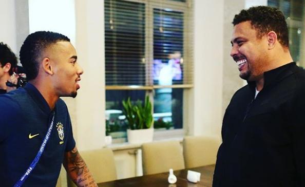 Gabriel Jesus vira sócio de Ronaldo Fenômeno em empresa de gestão financeira – Jovem Pan