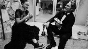 Diretor revela nome do primeiro filho de Joaquin Phoenix e Rooney Mara