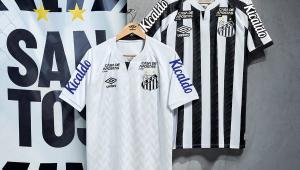 Santos lança novo uniforme em live com Renato e Giovanni