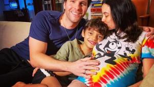 Thiago Fragoso anuncia chegada do segundo filho com Mariana Vaz