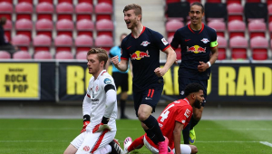 Treinador do RB Leipzig admite saída de Werner: 'Não há nada que eu possa fazer'