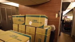 Durante pandemia, transporte aéreo de cargas cai mais do que a metade