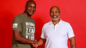 Mike Tyson x Holyfield: ex-boxeadores e empresários aprovam novo duelo