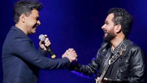 Live de Zezé e Luciano é cancelada após músicos de banda serem diagnosticados com Covid-19