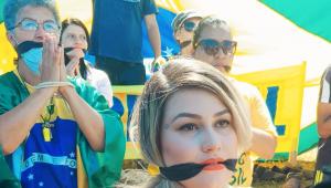 Justiça não aceita pedido do MP para remover acampamento '300 do Brasil'