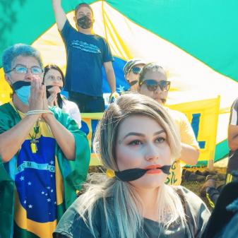 Após prisão de Sara Winter, PF cumpre outros 5 mandados contra lideranças do 300 do Brasil