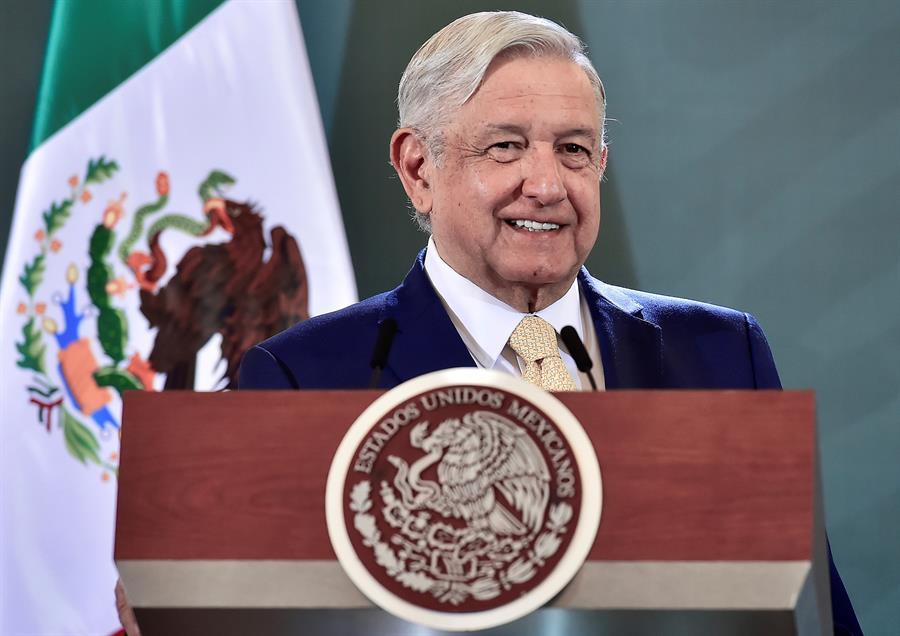 Andrés Manuel López Obrador é o atual presidente do México