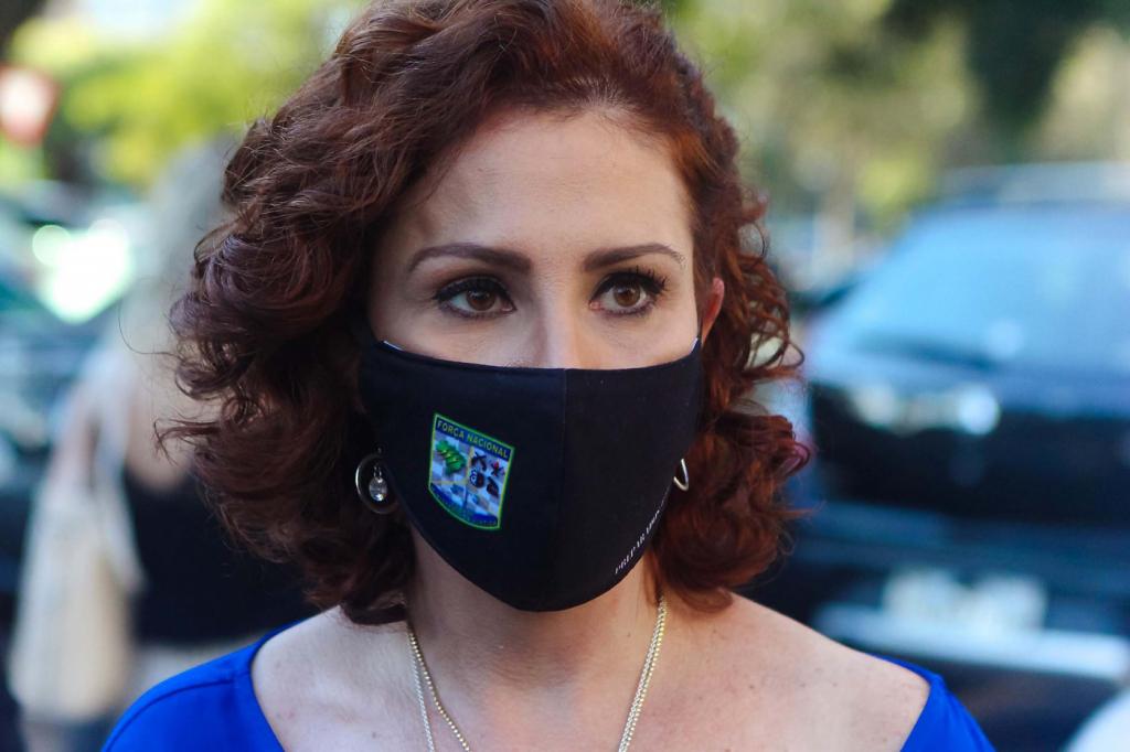 Carla Zambelli é internada em Brasília após contrair Covid-19 ...