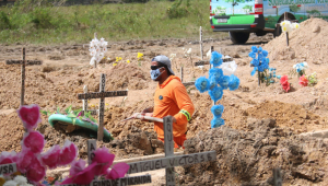 Brasil tem 46 mil casos e 694 mortes por Covid-19 em 24 horas