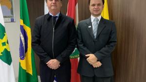 Bolsonaro se reúne com secretário do DF cotado para Segurança Pública