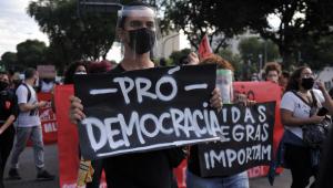 Constantino: Principal personagem das manifestações foi a polícia