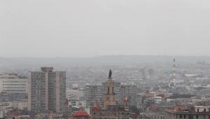 nuvem de poeira, Havana Cuba