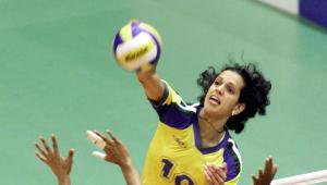 Virna, medalhista olímpica no vôlei, testa positivo para Covid-19