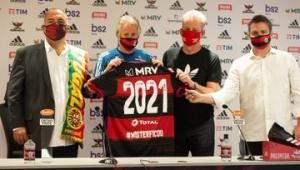 Flamengo oficializa renovação com Jorge Jesus até junho de 2021