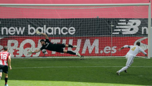 Com gol de pênalti, Real Madrid vence Athletic Bilbao e se aproxima do título