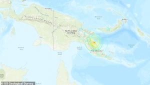 terremoto papua nova guiné