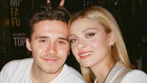 Filho de David e Victoria Beckham está noivo de atriz