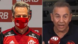 Flamengo 'sofre' com transmissão paga, e Flavio Prado desafia: 'Quero ver convencer o torcedor'