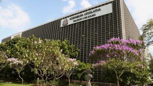 Fachada da Assembleia Legislativa de São Paulo