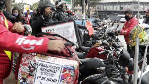 Entregadores de aplicativos prometem nova greve em 12 de julho