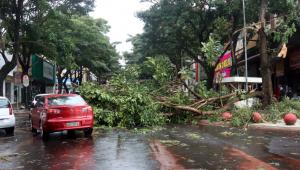 Bolsonaro sobrevoa áreas afetadas pelo 'ciclone bomba' em Santa Catarina